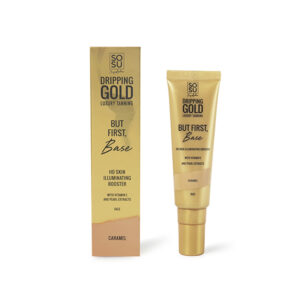 DRIPPING GOLD LUXURY TANNING Shimmer Face Base primer