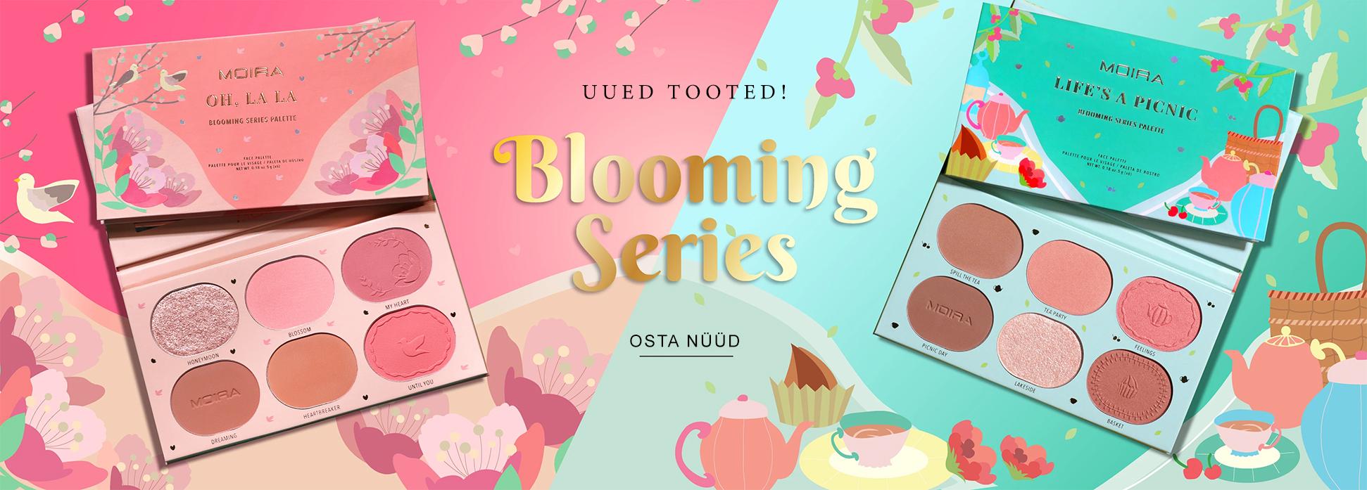 MOIRA Blooming Series Banner