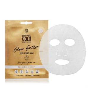 Glow getter brightening sheet mask