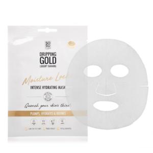 Moisture lock sheet mask
